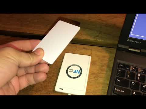 RFID/NFC Cloning Mifare Classic Smart Cards