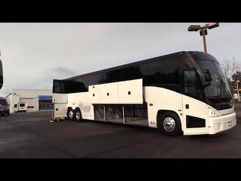 MCI J4500 ADA - 56 Passenger Motorcoach - C66545 - YouTube