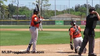 Yusniel Diaz - Baltimore Orioles prospect (OF) - 2019 MiLB ST