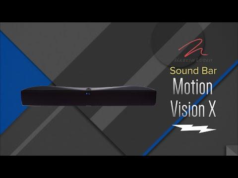 Martin Logan Motion Vision X Black Sound Bar Speaker MOSBDX - Overview