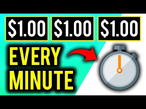 Earn $1.00 EVERY MINUTE Over & Over! (Make Money Online - PayPal!)