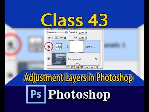 Photoshop adjustment layers | Photoshop Tutorial - class 43 || By Ah production thumbnail