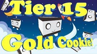 Roblox Pet simulator Golden Cookie tier 15 pet!