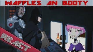 Cyborg Reacts To Cartoon Hook-Ups: Cyborg and Jinx
