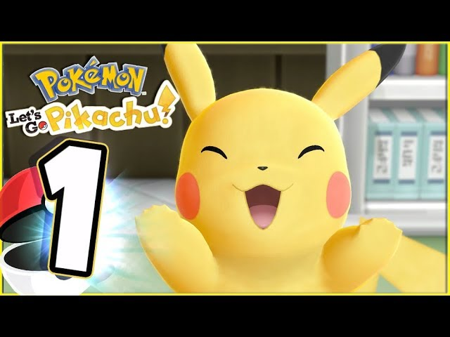 Pokémon Lets Go Pikachu Walkthrough Part 1 Welcome to Pallet Town (Nintendo Switch)