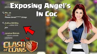 GIRL'S FAKE ACCOUNT IN CLASH OF CLANS   INDIA N FUNNY GIRL'S AND BOY STORY