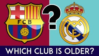 Can You Guess Which Club Is Older?