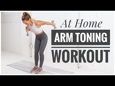 TONED ARMS // Home Workout
