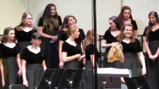 fall choir concert passout