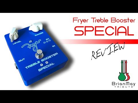 Treble Booster Special | Fryer Guitars