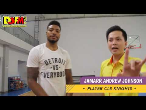 Best Moments of Jamarr Andre Johnson in CLS Knights Surabaya