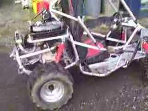 Extended Kinroad Runmaster Go Kart 250 Buggy Segment