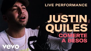 Justin Quiles Comerte a Besos Live Performance Vevo.mp3
