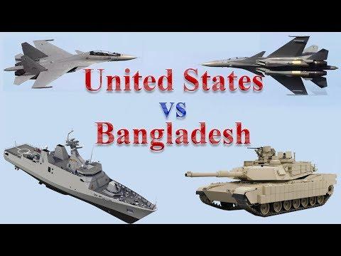 United States vs Bangladesh Military Power 2017