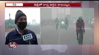 Delhi Slowly Recovering From Air Pollution Emergency  Telugu News