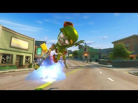 Plants vs  Zombies Garden Warfare Rocket Jump +ZPG