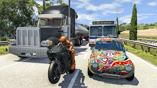 Street Race Crashes Compilation #16 - BeamNG DRIVE | SmashChan