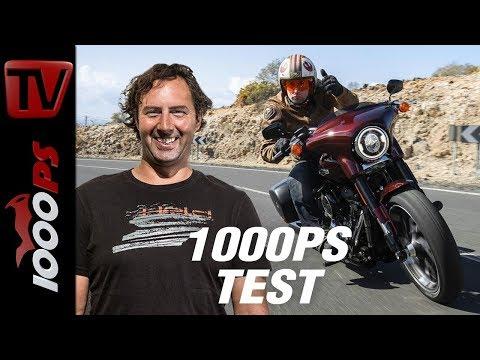 1000PS Test - Harley-Davidson Sport Glide - zwei Motorräder in einem - gespaltene Persönlichkeit?