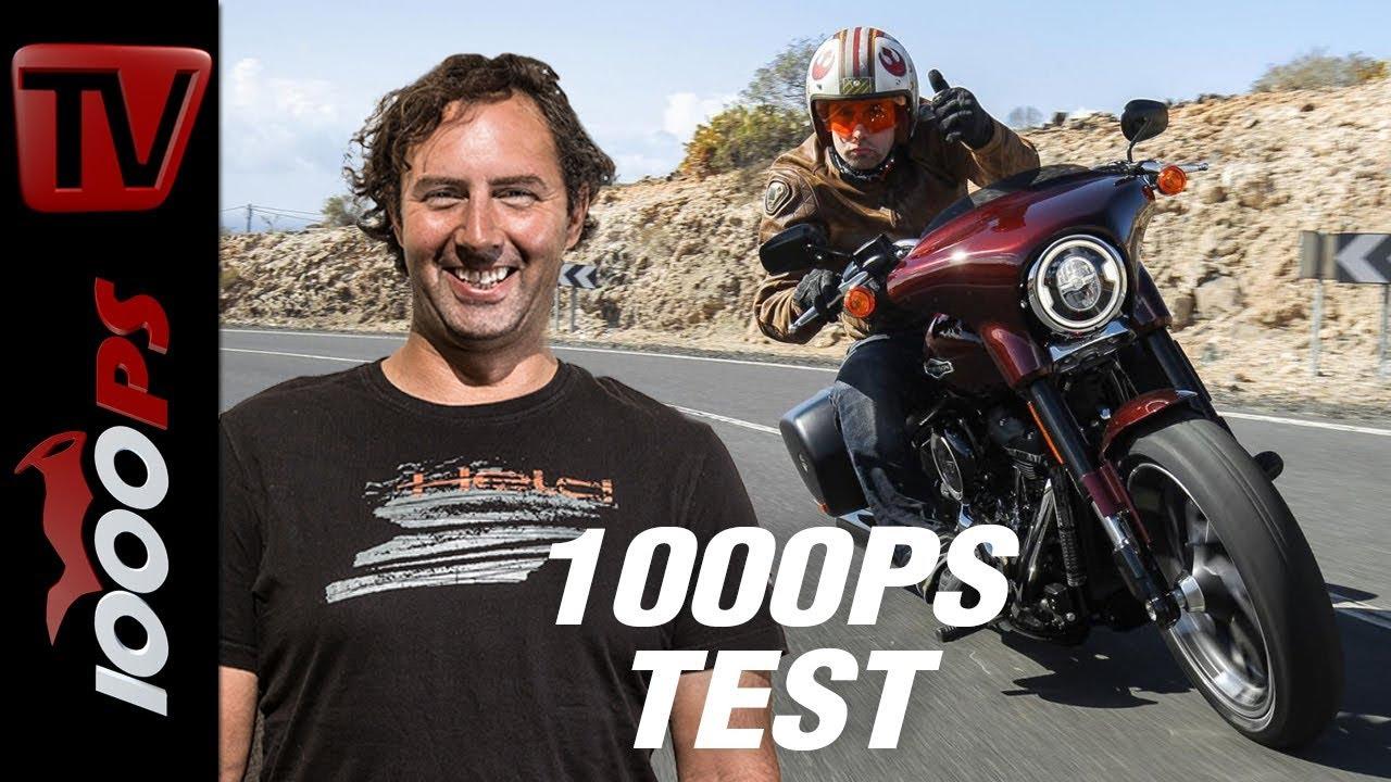 video 1000ps test harley davidson sport glide zwei