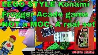 LEGO Compatible Arcade Game by Konami vs MOCs for sale !