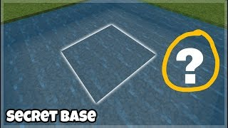 Minecraft PE: How to Build An Underwater Secret Base Tutorial (#1)