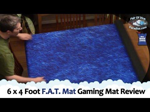 6x4 Foot F A T  Mat Gaming Mat Review (The Component Proponent)