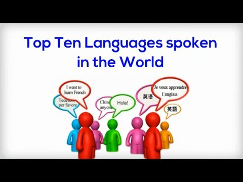 Top Languages Spoken In The World General Knowledge YouTube - Top ten languages in the world