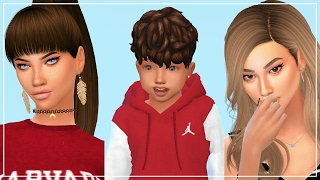 Sims 4 | Create A Sim(CAS)/LookBook | The Pearson's | Family Makeover!