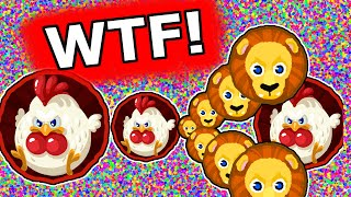 WTF CANNONPOPSPLIT!!! Agario Insane Moments (Agar.io)