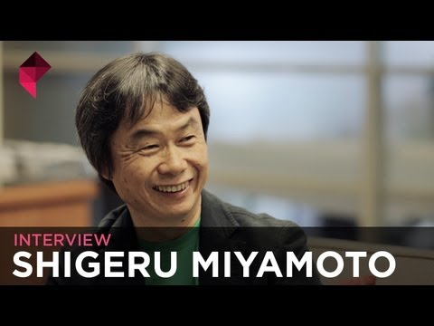 Shigeru Miyamoto Interview - YouTube