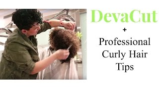 Devacut + Professional Curly Hair Tips