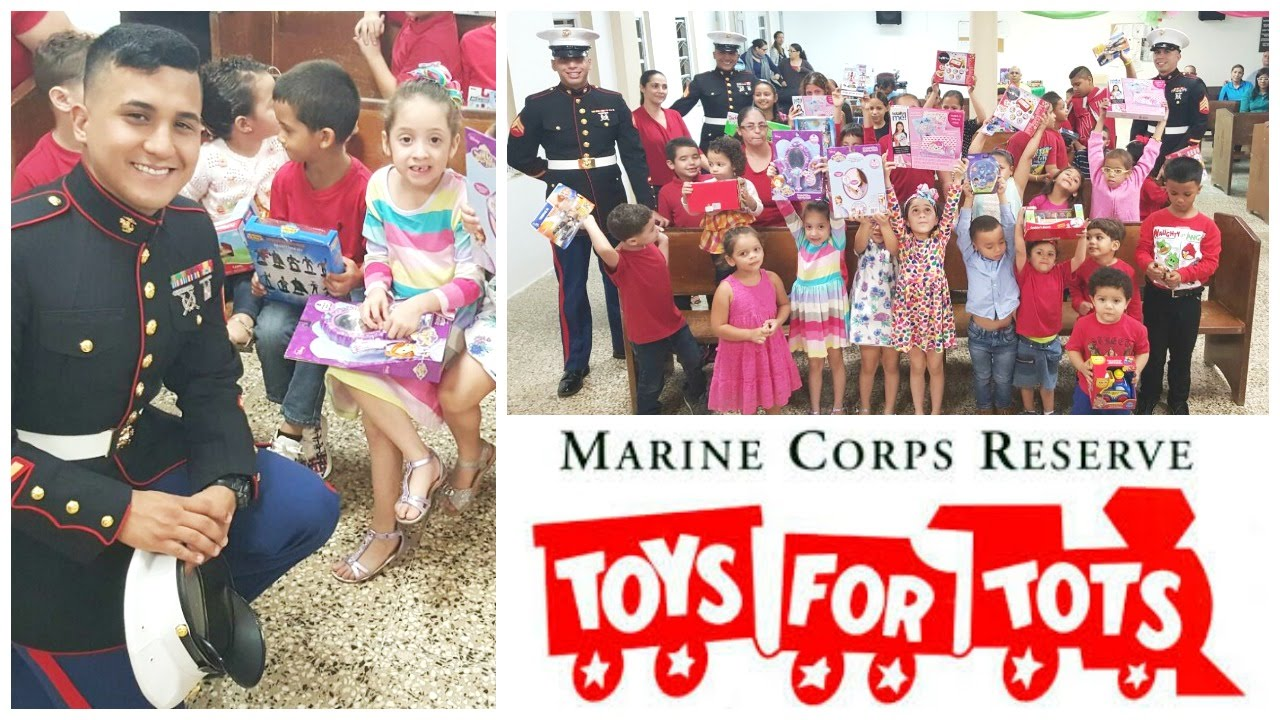 Toys for Tots in Puerto Rico! US Marines helping the ...