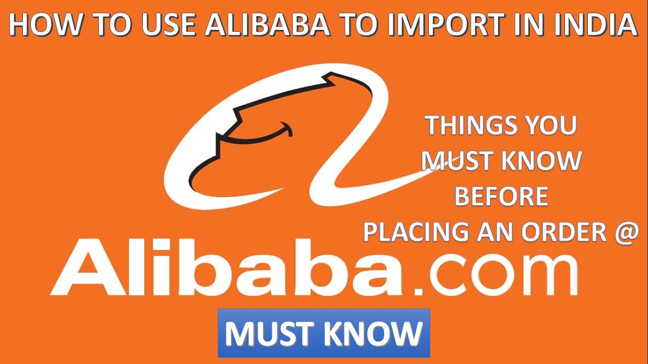 How To Buy From Alibaba  What you should take care while ordering from  alibaba