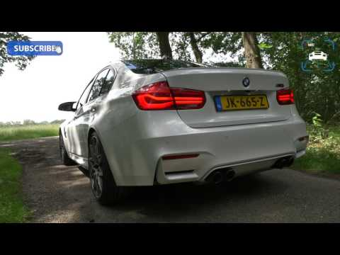 BMW M3 COMPETITION F80 - Exhaust Sound LOUD! Startup & Revs