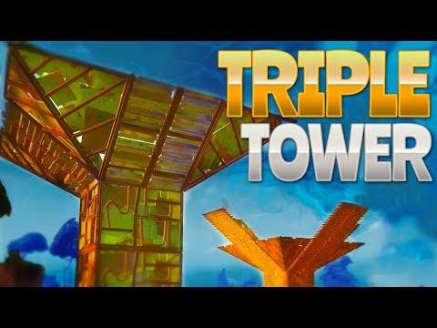 TRIPLE TOWER (Fortnite Battle Royale)