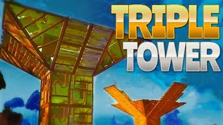 TRIPLE TOWER (Fortnite Battle Royale)
