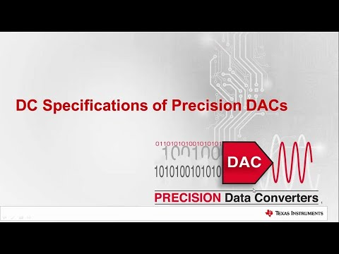 Precision DACs:  DC Specifications