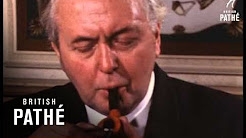 Harold Wilson At Pipe Exhibition (1970-1974)