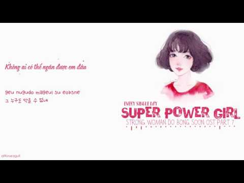 [vietsub/han/roma]-every-single-day-–-super-power-girl-(strong-woman-do-bong-soon-ost)