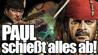 "Auch als Pirat ist Paul ""ON FIRE""! - Sea of Thieves mit @Tinkerleo und Paul Panzer"