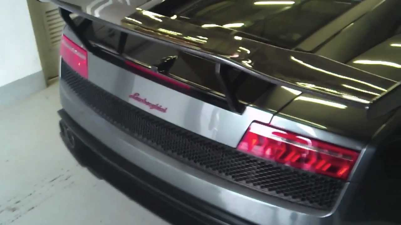 Dmc Sv Rear Wing Spoiler For Lamborghini Gallardo Carbon Fiber