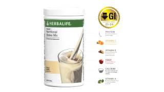 Montreal Herbalife Ind. Member C. Arthur-Formula1 meal replacement-Low Glycemic Index