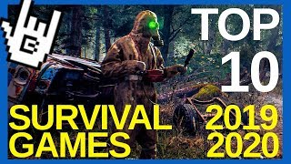 Top 10 SURVIVAL, CRAFT And BUILD Games of 2019 2020