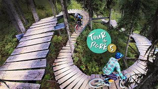 The Most UNIQUE Bike Park?