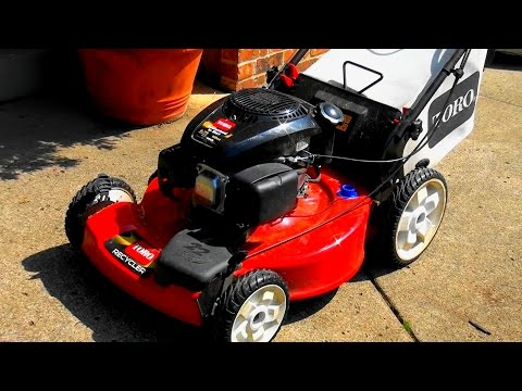 New TORO Lawnmower WON'T START. LAWNBOY style - KOHLER ENGINE. HOW TO FIX - clean the carburetor