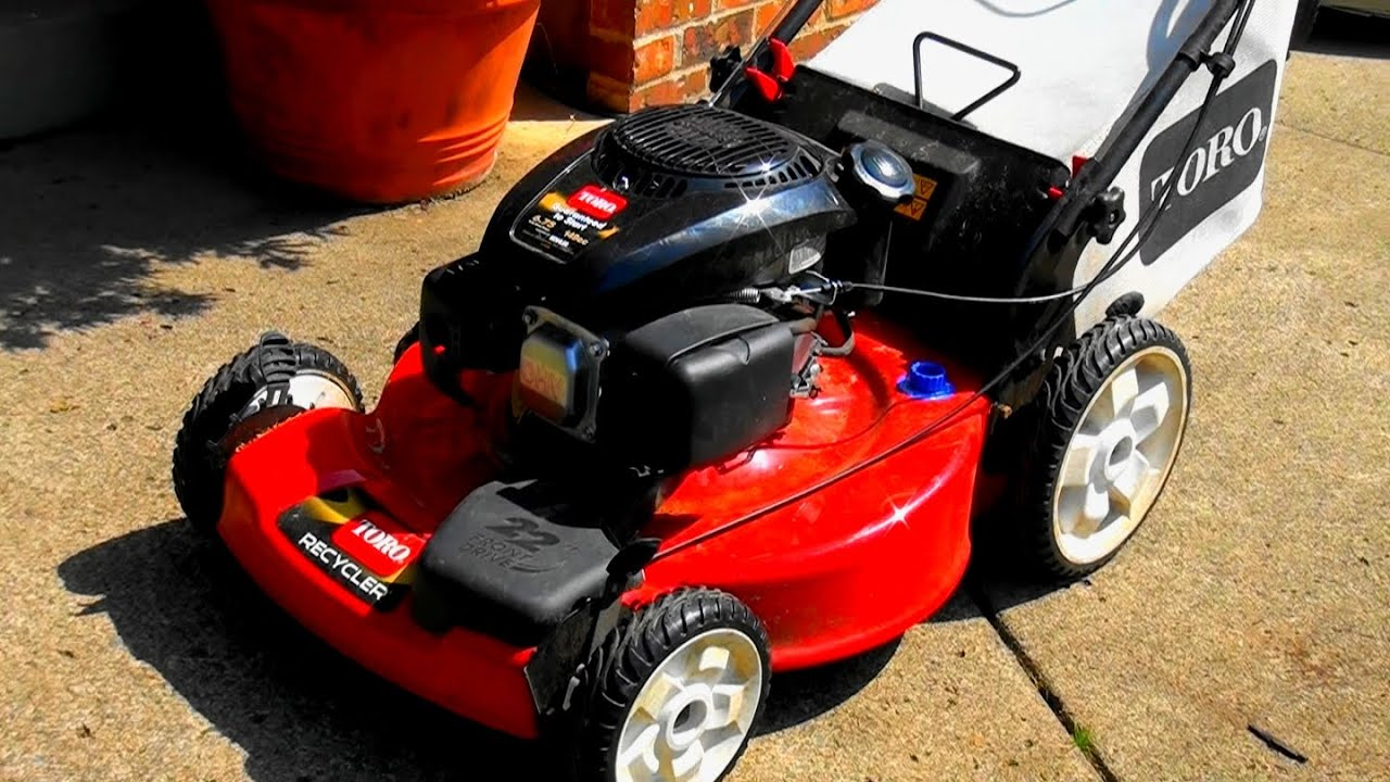 New Toro Lawnmower Won T Start Lawnboy Style Kohler Engine How To Fix Clean The Carburetor