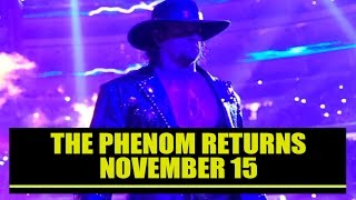 WWE | THE UNDERTAKER RETURNS TO SMACKDOWN 11/15