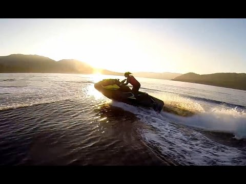 Jet Skis at Sunset - The Ride Home / Lysefjord / Norway