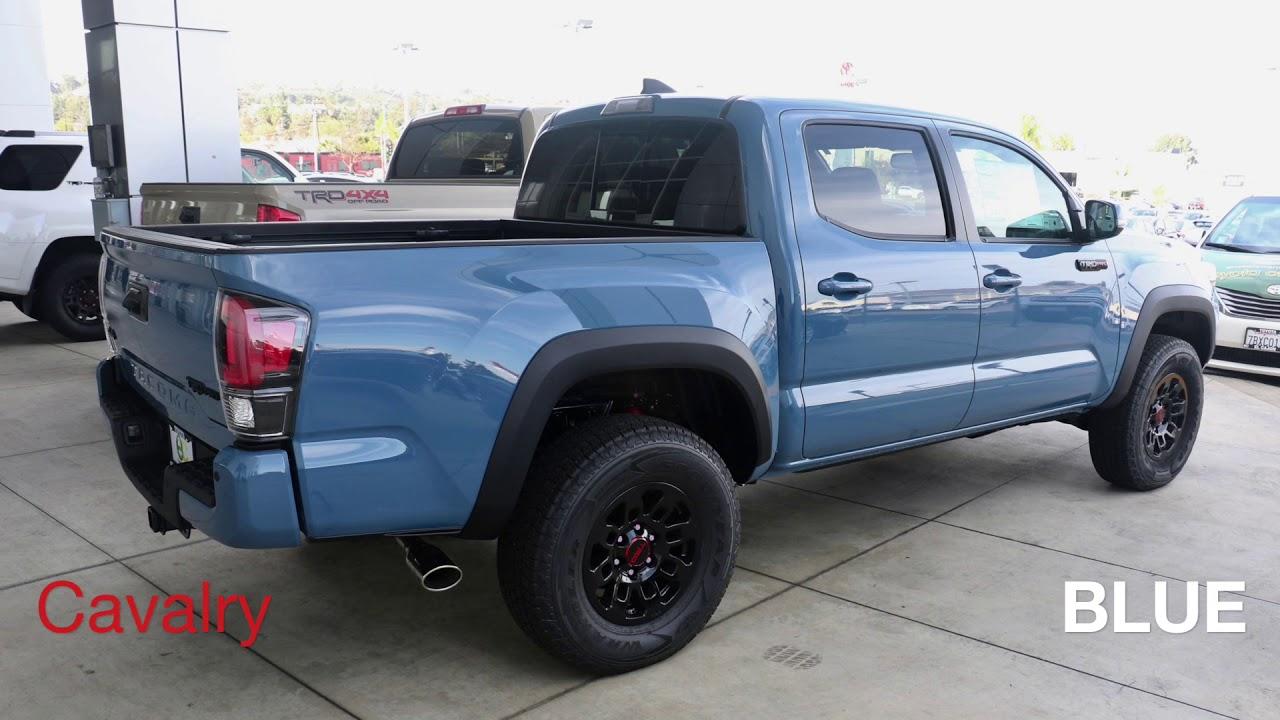 Cavalry Blue Tacoma Trd Pro Mp3hours Tk