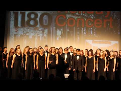 """Angel Breathing Out"" performed by Victor High School Varsity Choir"